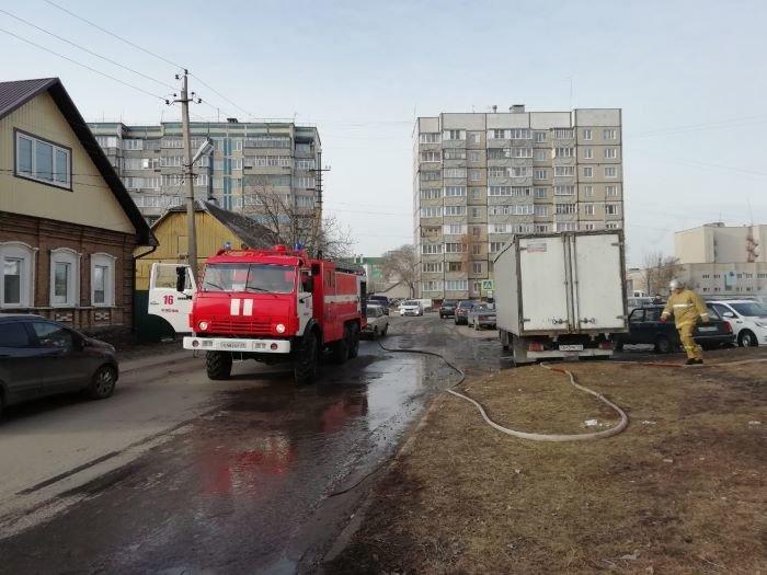 В Алексеевке сгорел «Киа Рио», фото-2