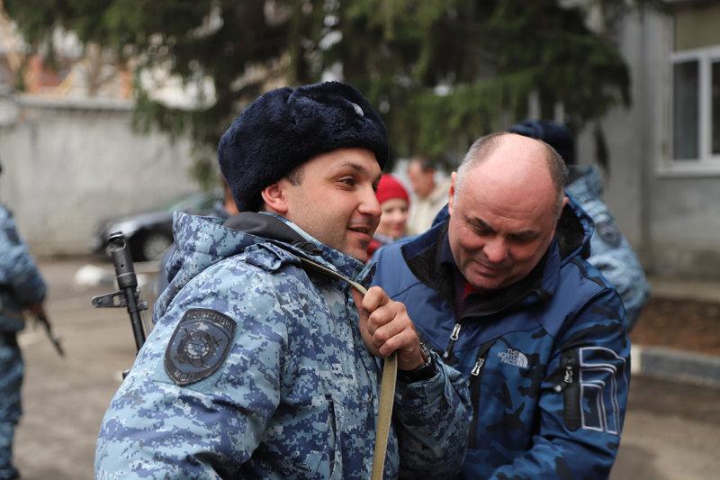 Из Дагестана вернулся сводный отряд полиции Белгорода , фото-7
