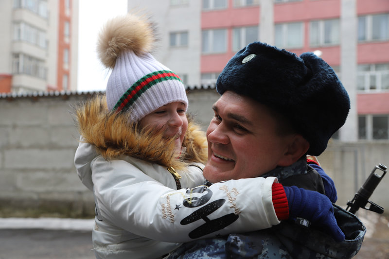 Из Дагестана вернулся сводный отряд полиции Белгорода , фото-6