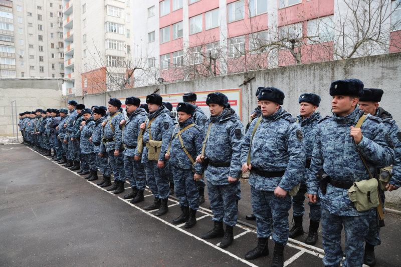 Из Дагестана вернулся сводный отряд полиции Белгорода , фото-2