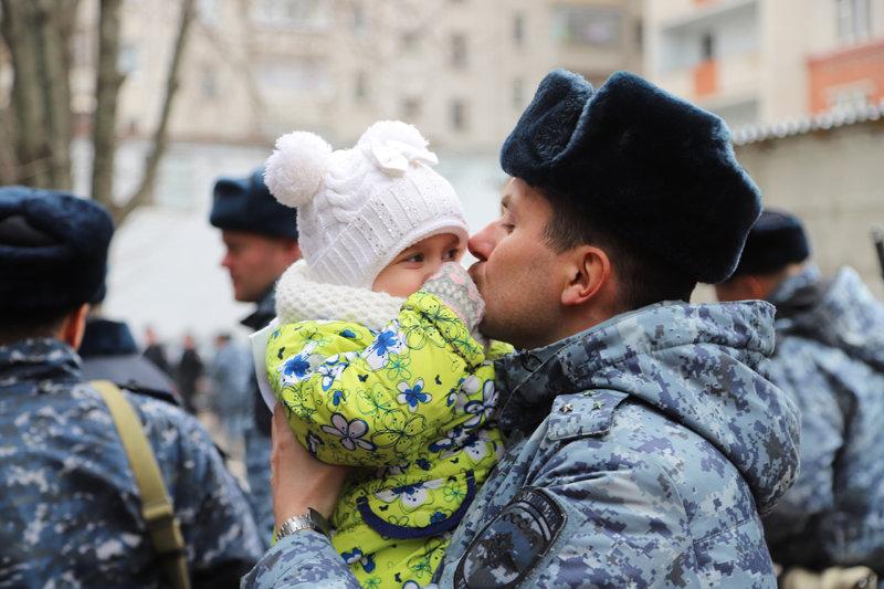 Из Дагестана вернулся сводный отряд полиции Белгорода , фото-5