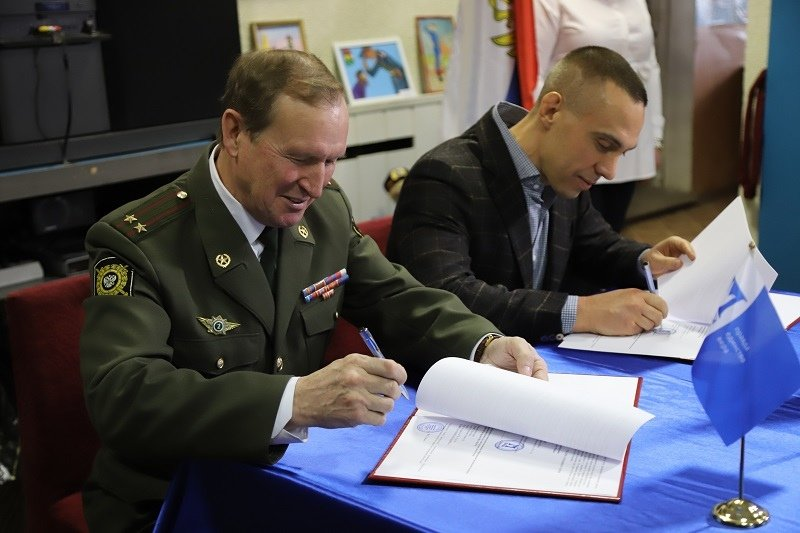 Профсоюз «Правда» подписал соглашение с Советом ветеранов внутренних дел и внутренних войск России, фото-3