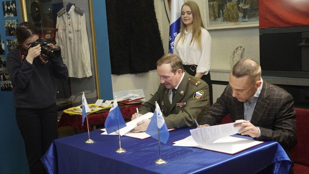 Профсоюз «Правда» подписал соглашение с Советом ветеранов внутренних дел и внутренних войск России, фото-5
