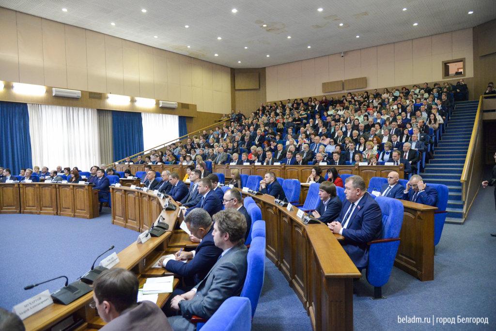 Новый мэр Белгорода вышел принимать присягу под музыку из«Звездных войн»