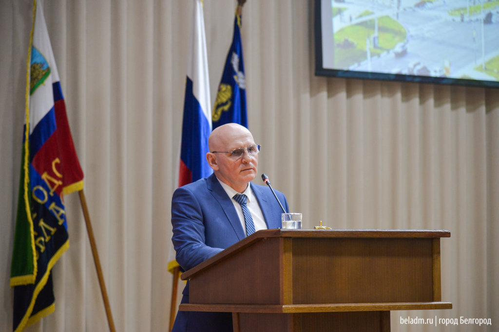 Юрий Галдун возглавил мэрию Белгорода под гимн из «Звёздных войн», фото-4
