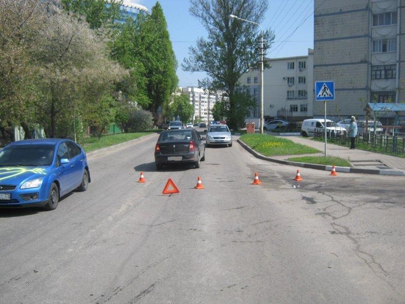 В Белгороде лихач на «Рено» сбил старушку, фото-1
