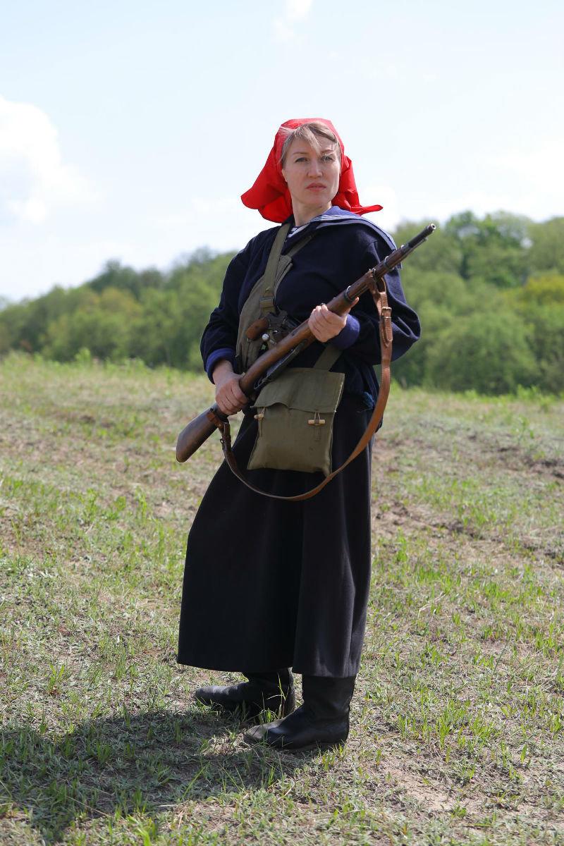 «Враги сожгли родную хату». Под Белгородом воссоздали сражение столетней давности, фото-19