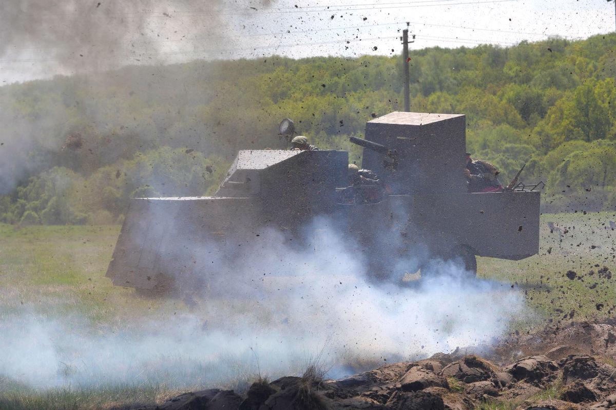 «Враги сожгли родную хату». Под Белгородом воссоздали сражение столетней давности, фото-29