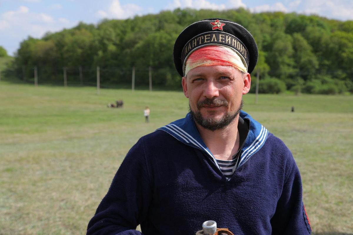 «Враги сожгли родную хату». Под Белгородом воссоздали сражение столетней давности, фото-32