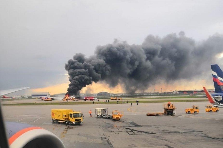 В столичном аэропорту Шереметьево из-за катастрофы отменили рейсы до Белгорода , фото-1