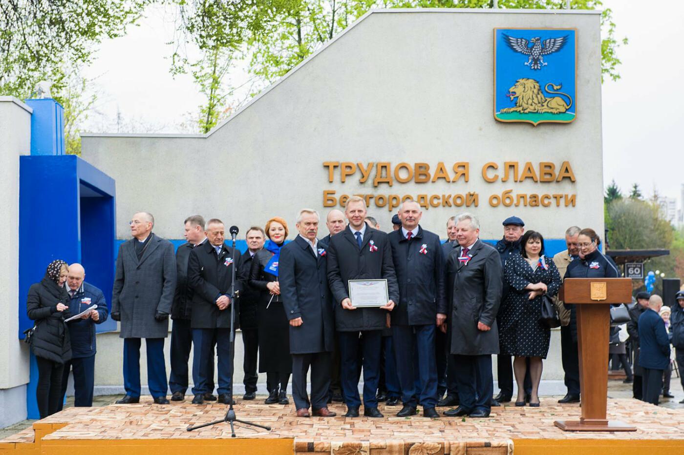 Белгородский энергетик Иван Лебедев попал на областную Аллею трудовой Славы, фото-5