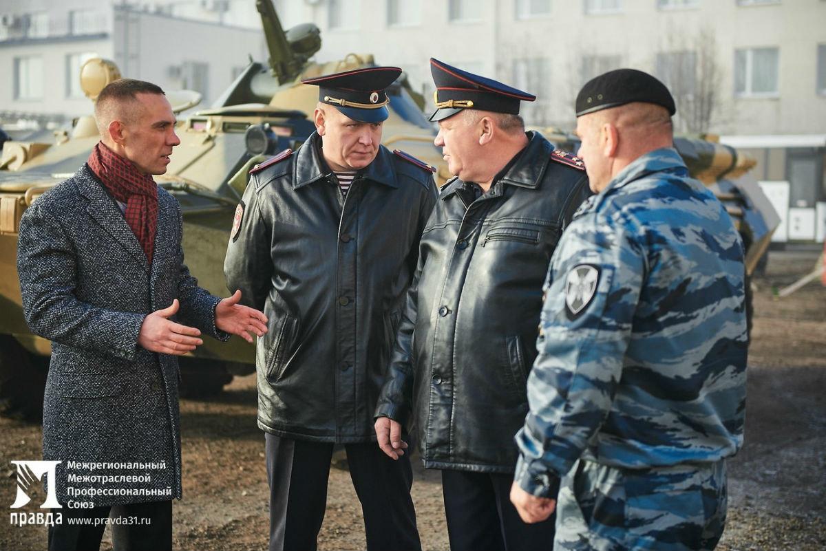 В дне открытых дверей Росгвардии приняли участие более 100 юных белгородцев, фото-3