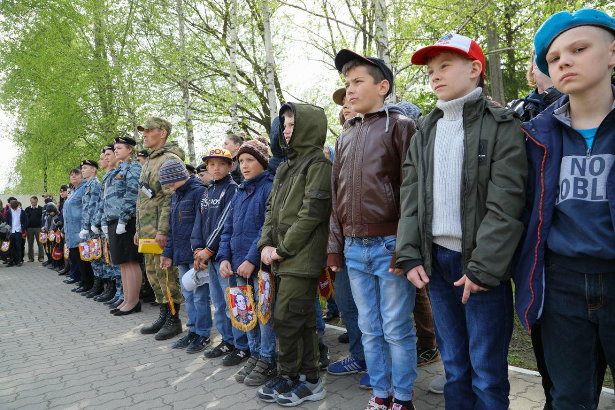 В дне открытых дверей Росгвардии приняли участие более 100 юных белгородцев, фото-6