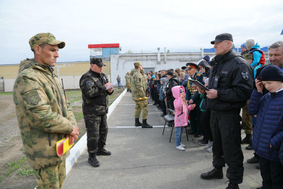 В дне открытых дверей Росгвардии приняли участие более 100 юных белгородцев, фото-11