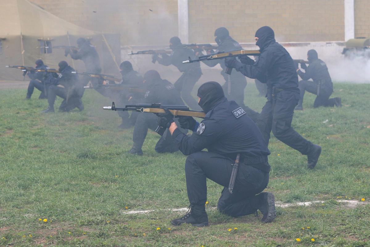В дне открытых дверей Росгвардии приняли участие более 100 юных белгородцев, фото-12