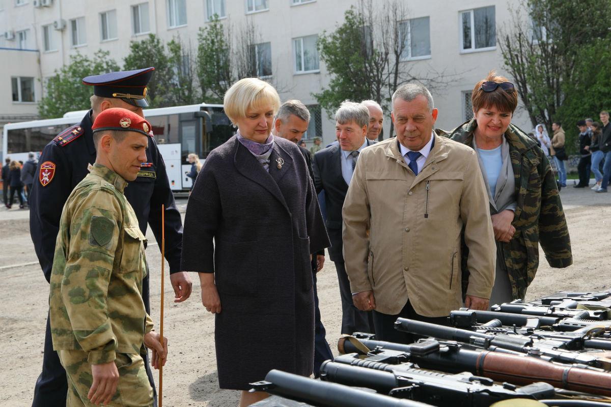 В дне открытых дверей Росгвардии приняли участие более 100 юных белгородцев, фото-17