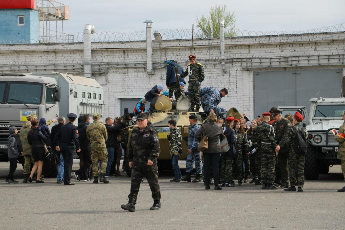 В дне открытых дверей Росгвардии приняли участие более 100 юных белгородцев, фото-20