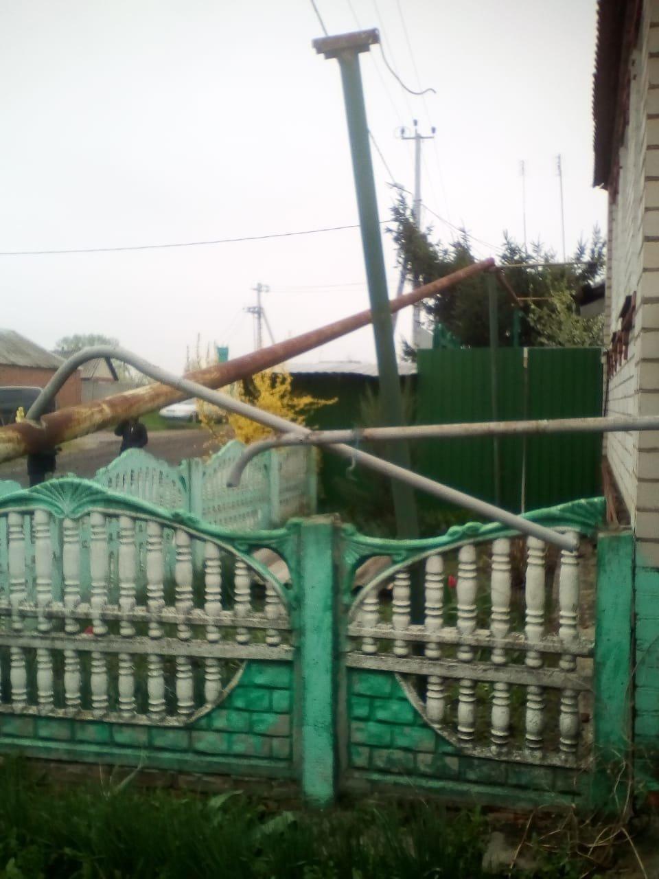 В Томаровке самосвал повредил газопровод, фото-3
