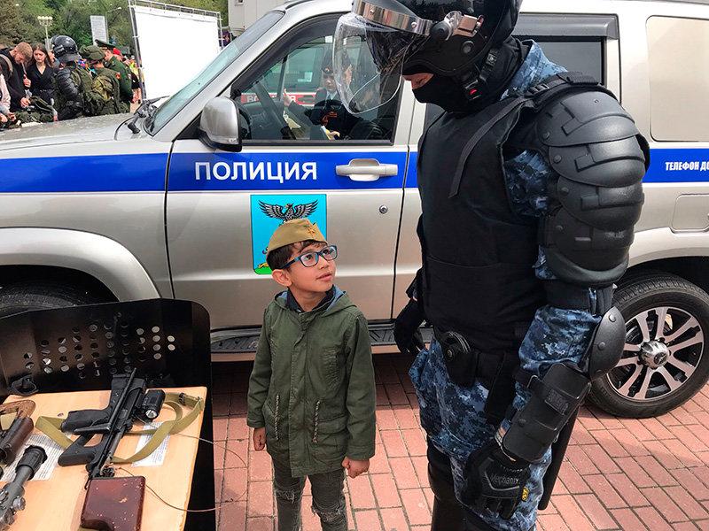 Оружие и спецтехнику показали горожанам полицейские Белгорода, фото-2, Фото: пресс-служба управления МВД по Белгородской области