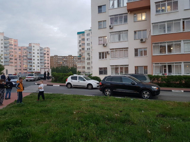 В Старом Осколе иномарка во дворе сбила девочку, фото-1, Фото: пресс-служба управления МВД по Белгородской области