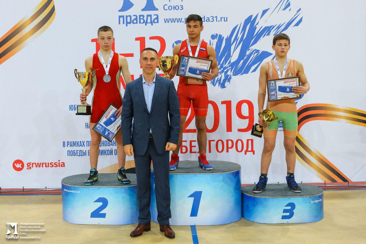 Международный турнир по греко-римской борьбе в Белгороде собрал более 250 участников, фото-29