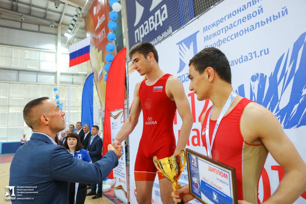 Международный турнир по греко-римской борьбе в Белгороде собрал более 250 участников, фото-30