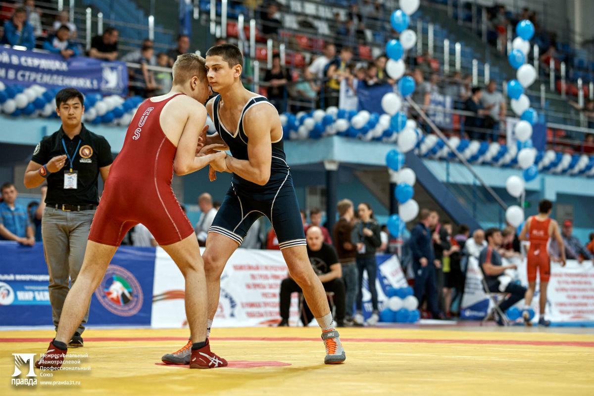 Международный турнир по греко-римской борьбе в Белгороде собрал более 250 участников, фото-17