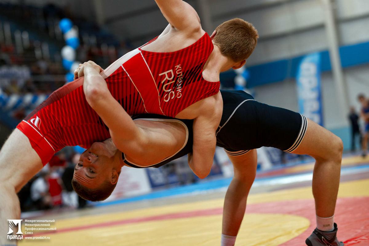 Международный турнир по греко-римской борьбе в Белгороде собрал более 250 участников, фото-21