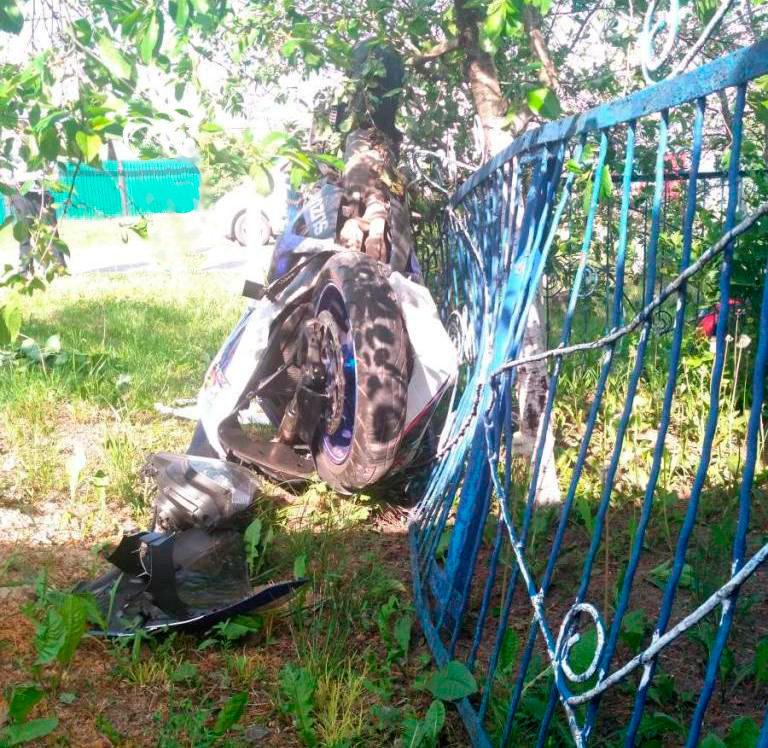 Под Белгородом разбился мотоциклист, фото-1