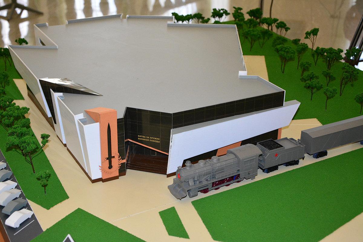 В Прохоровке возле строящегося музея установят копию воинского железнодорожного состава, фото-1