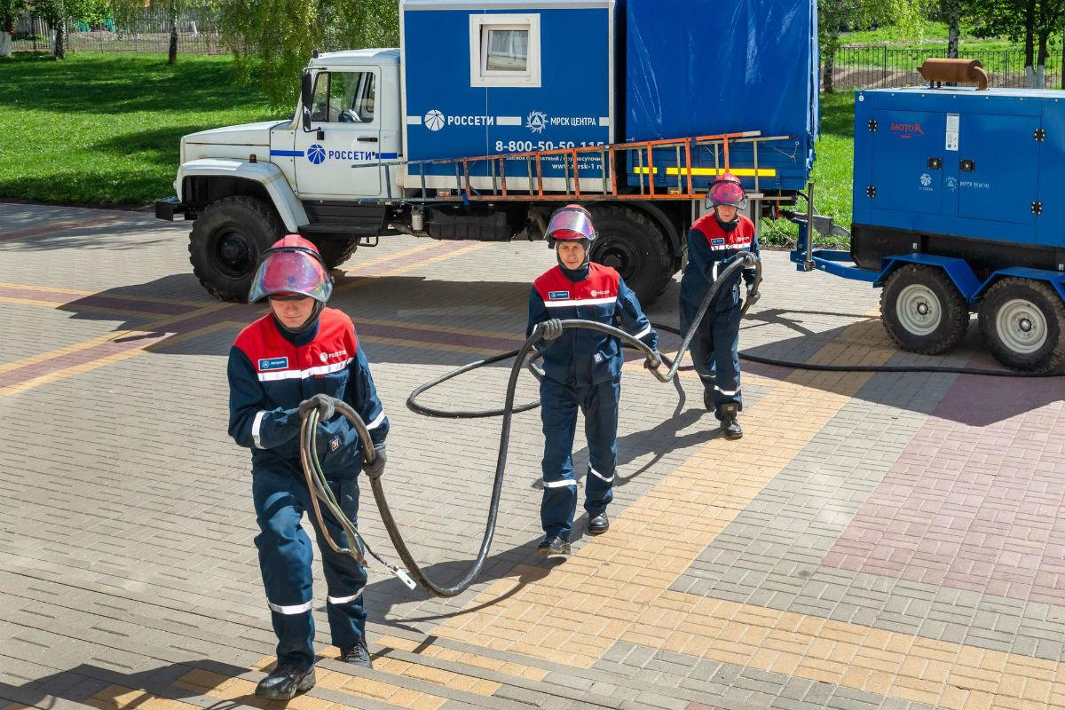 Белгородские энергетики на учениях отработали устранение массовых отключений, фото-3