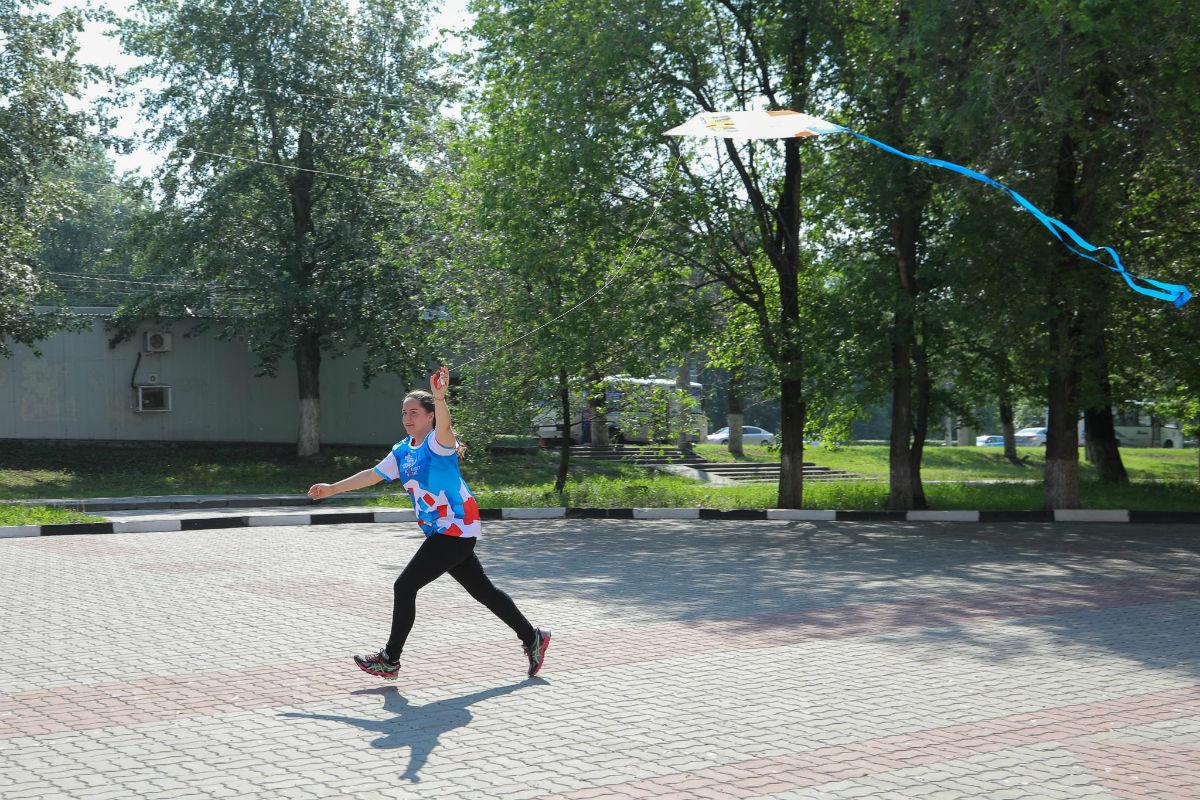 Воздушные змеи встретили переход Белгорода на «цифру», фото-3