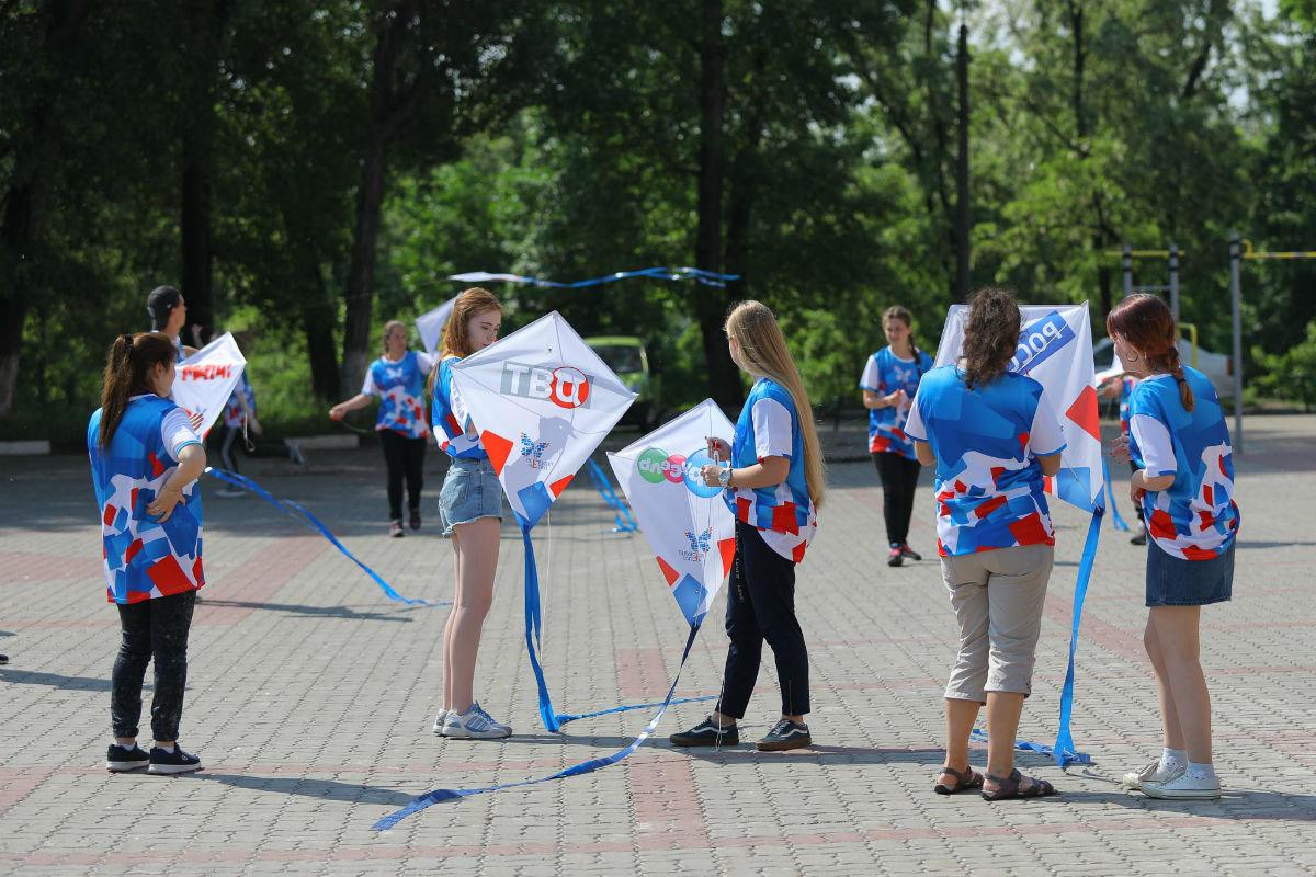 Воздушные змеи встретили переход Белгорода на «цифру», фото-5