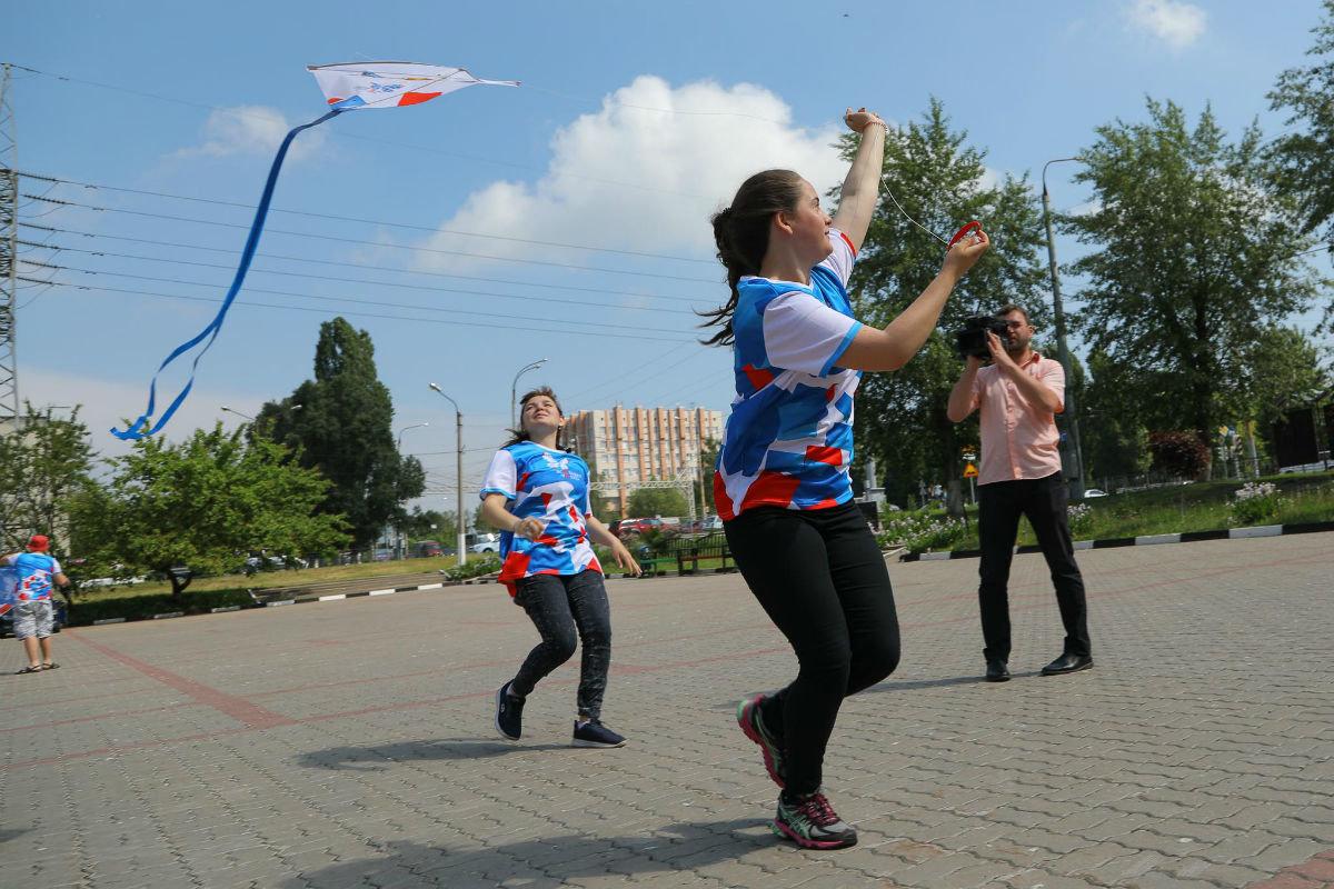 Воздушные змеи встретили переход Белгорода на «цифру», фото-7