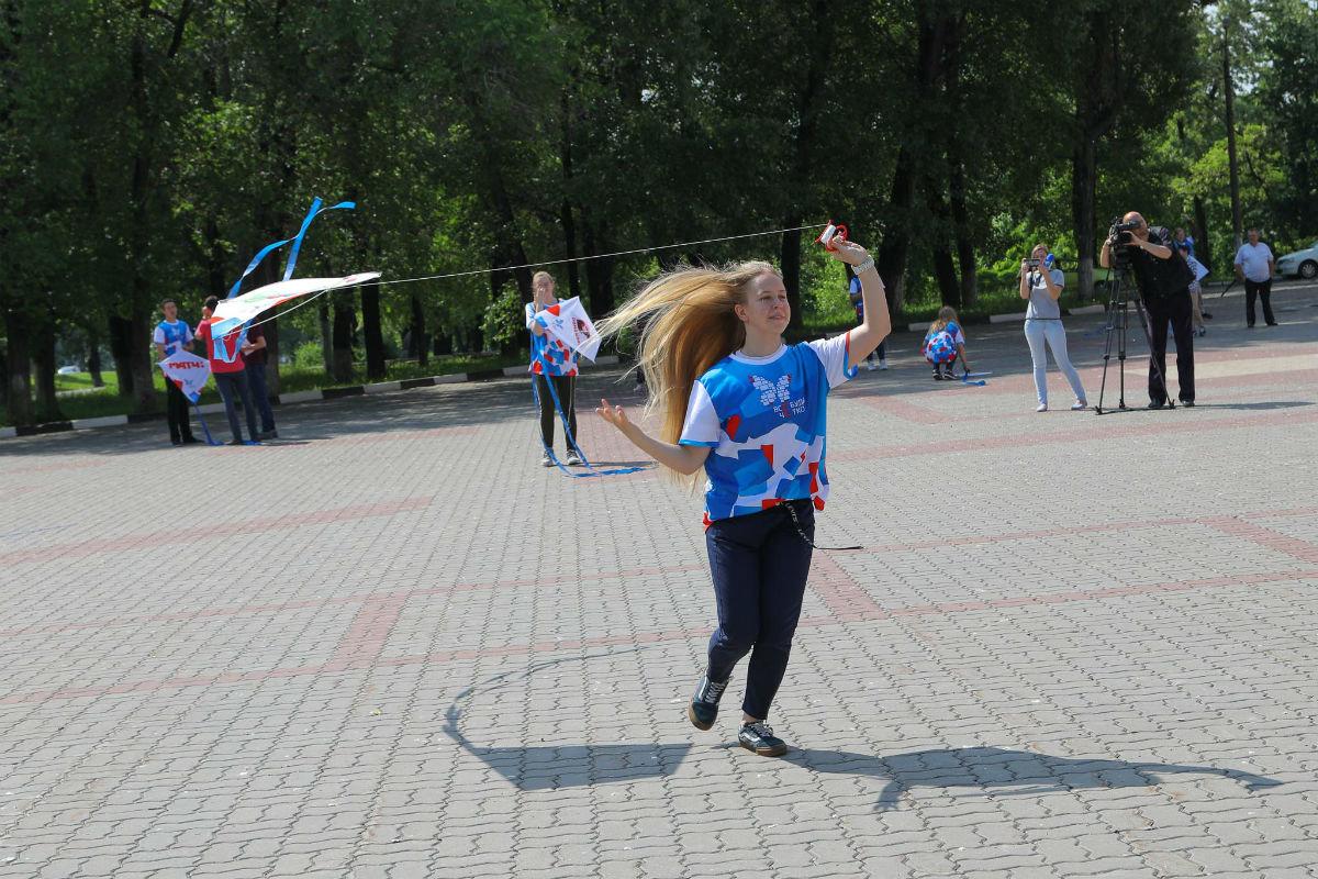 Воздушные змеи встретили переход Белгорода на «цифру», фото-8