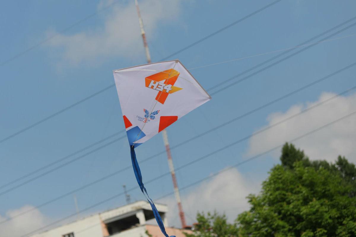 Воздушные змеи встретили переход Белгорода на «цифру», фото-9