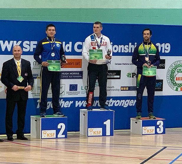 Новый рекорд белгородского гиревика зафиксировала Мировая Федерация гиревого спорта (WKSF), фото-1