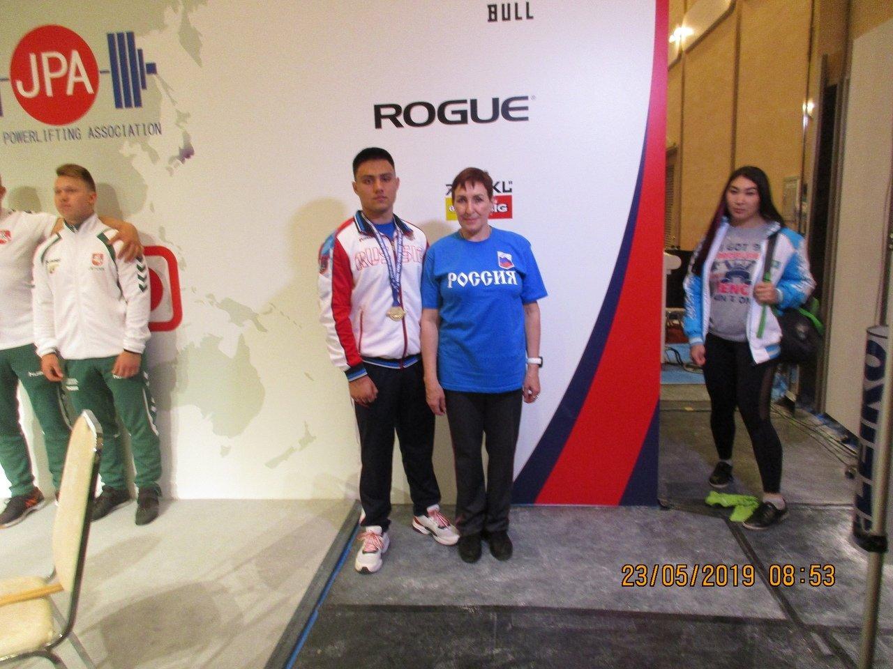 Белгородец выиграл чемпионат мира по пауэрлифтингу, фото-1