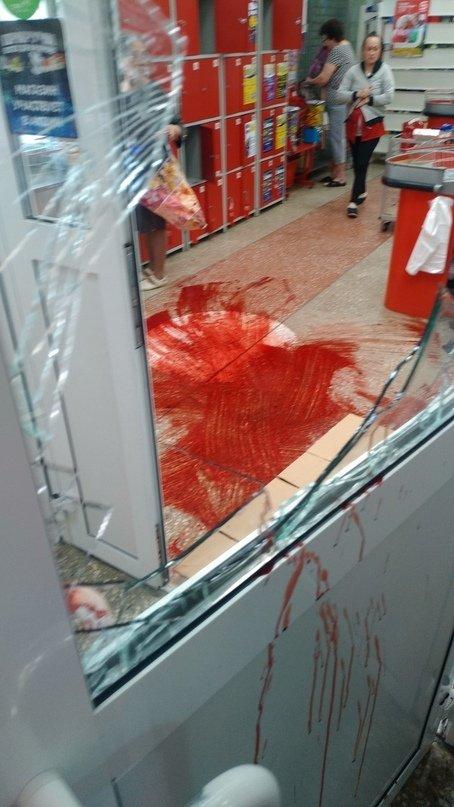 Белгородец получил травмы при попытке ограбления супермаркета «Магнит», фото-1
