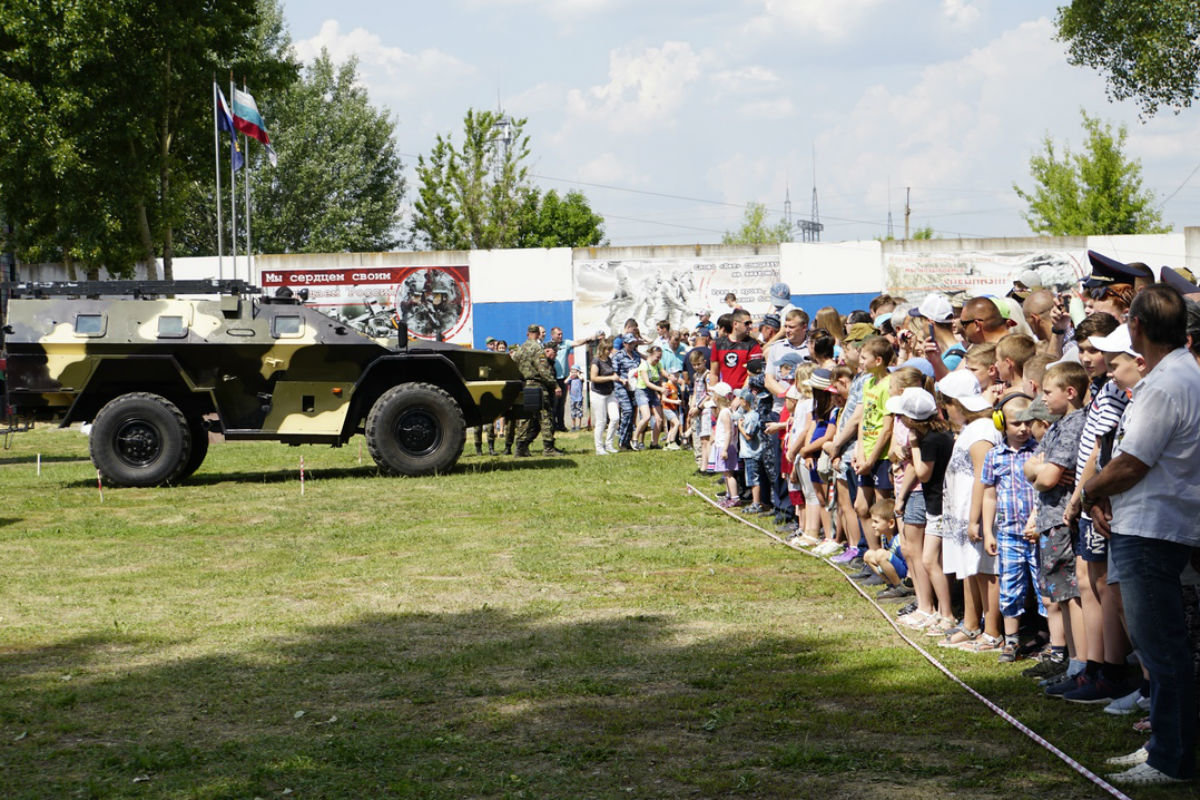 На тренировочной базе спецотряда «Сокол» прошёл день открытых дверей, фото-4