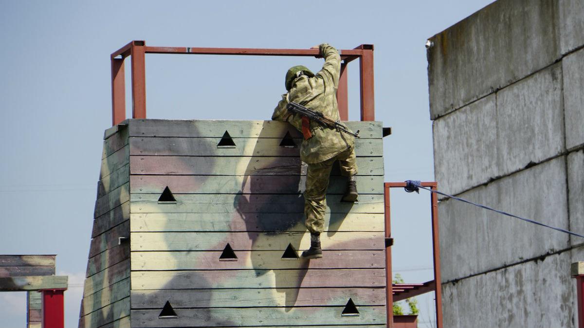 На тренировочной базе спецотряда «Сокол» прошёл день открытых дверей, фото-6