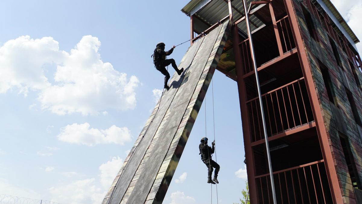 На тренировочной базе спецотряда «Сокол» прошёл день открытых дверей, фото-7