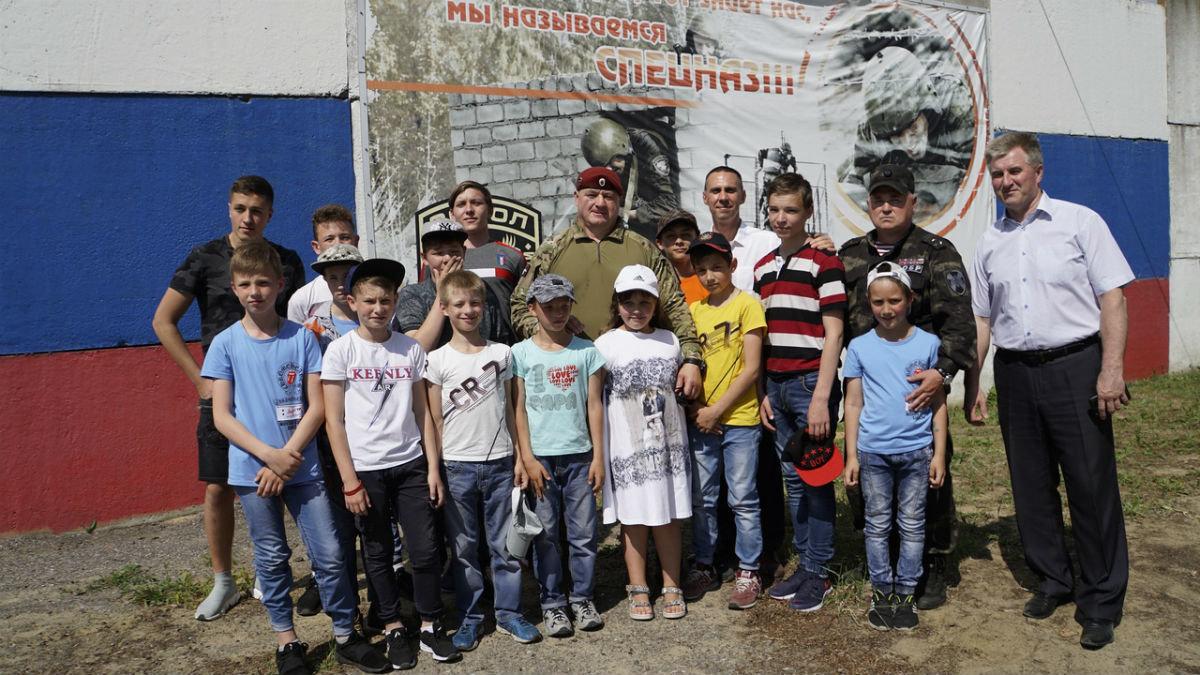 На тренировочной базе спецотряда «Сокол» прошёл день открытых дверей, фото-9