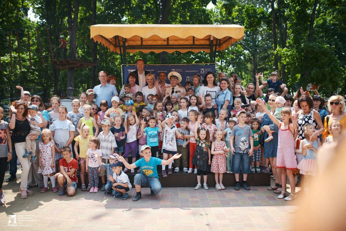 Профсоюз «Правда» поздравил юных белгородцев с Днём защиты детей, фото-10