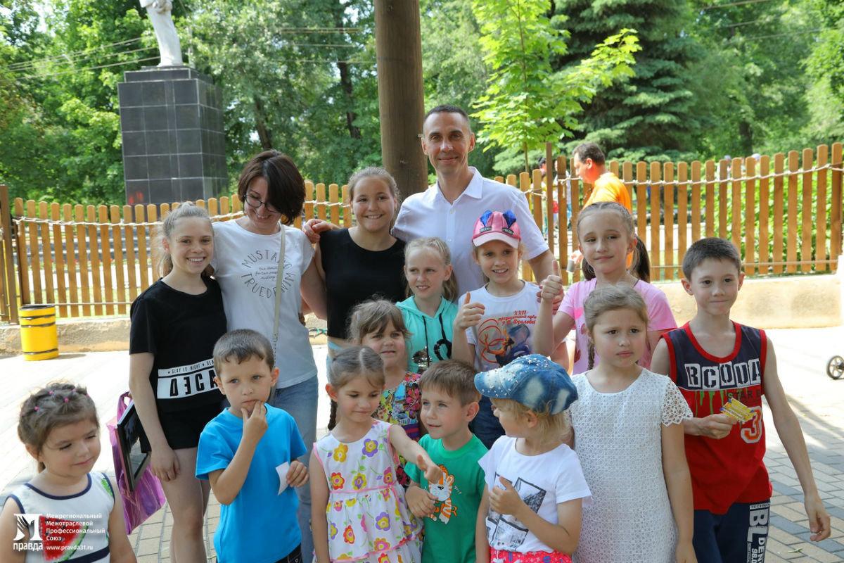 Профсоюз «Правда» поздравил юных белгородцев с Днём защиты детей, фото-11
