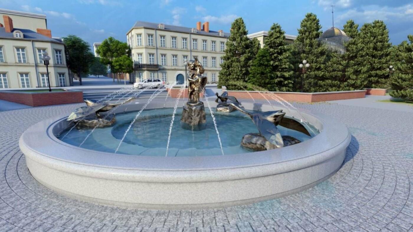 На Свято-Троицком бульваре в Белгороде появится новый фонтан, фото-1