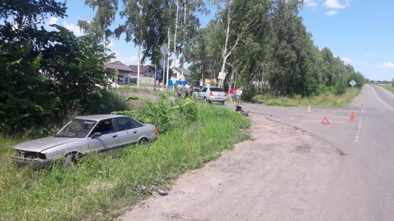 Под Белгородом иномарка сбила 16-летнюю девушку, фото-2, Фото: пресс-служба управления МВД по Белгородской области