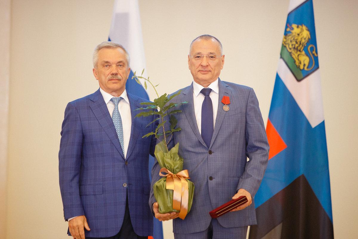 Евгений Савченко и Юрий Галдун