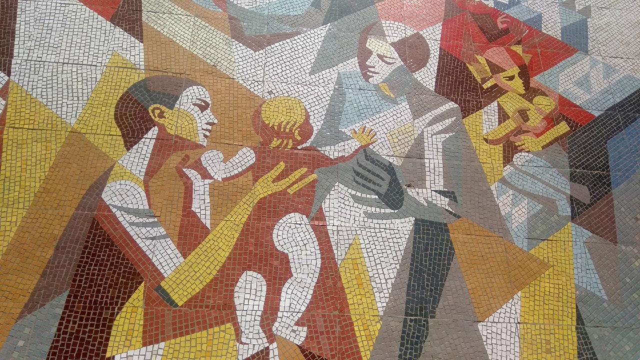 В Белгороде разрушили 120-метровую мозаику. Художники и архитекторы считают, что в Белгороде уничтожено произведение искусства, фото-4