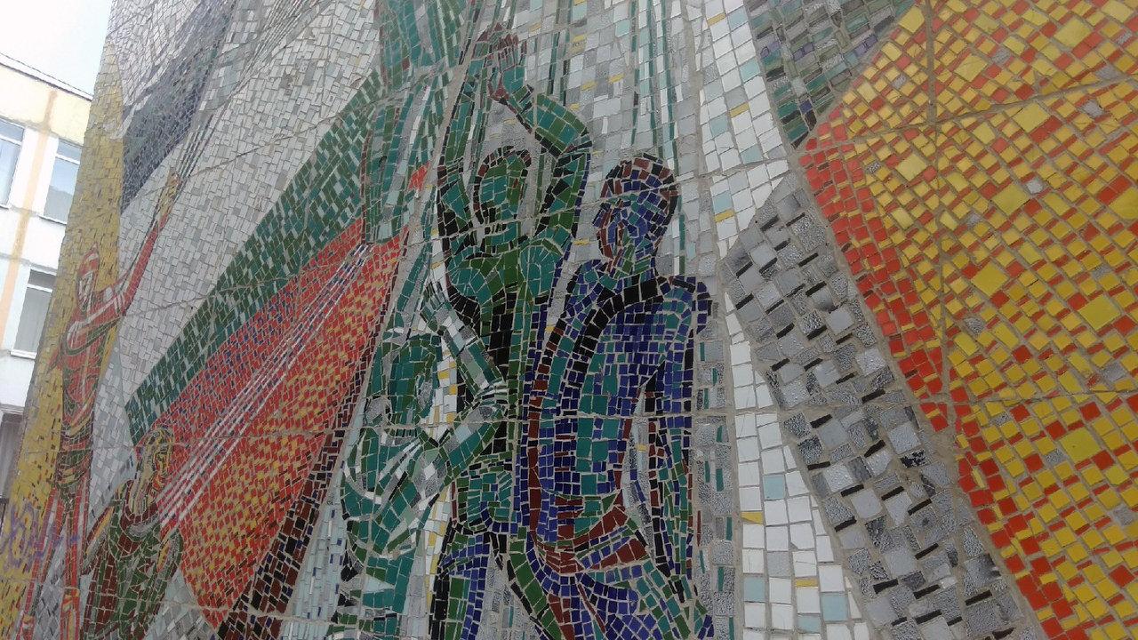 В Белгороде разрушили 120-метровую мозаику. Художники и архитекторы считают, что в Белгороде уничтожено произведение искусства, фото-7
